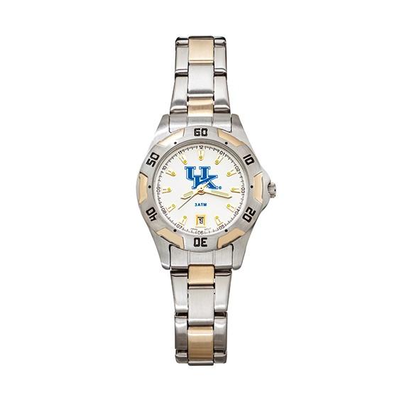 University of Kentucky Women's All-Pro Two Tone Watch