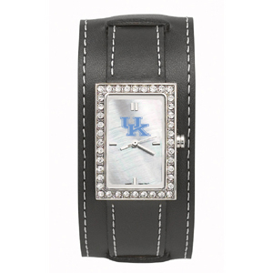 University of Kentucky Wide Starlette Leather Watch