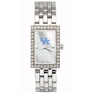 University of Kentucky Starlette Stainless Steel Watch