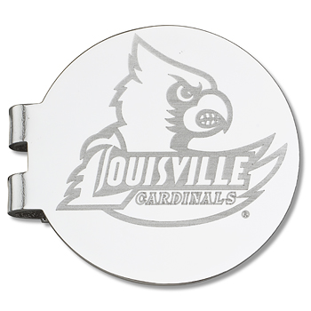 University of Louisville Laser Engraved Money Clip