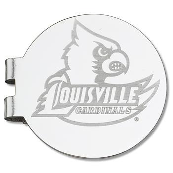 University of Louisville Laser Engraved Money Clip