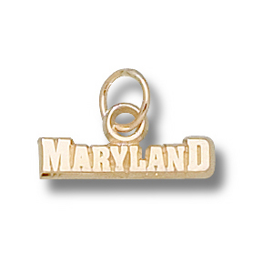 Maryland Terrapins 1/8in 14k Pendant