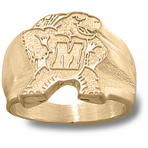 Maryland Terrapins Men's Seal Ring - 14k