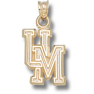 10kt Yellow Gold 5/8in Maryland UM Pendant