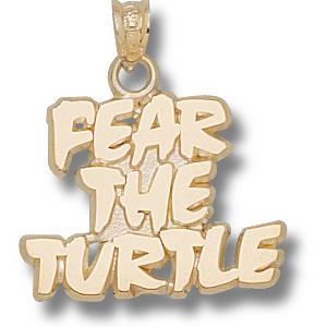 Maryland Terrapins 5/8in 10k Fear Pendant