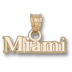 Miami Hurricanes 1/4in 10k Charm