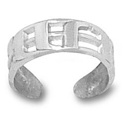 Univ. of Miami Toe Ring Sterling Silver