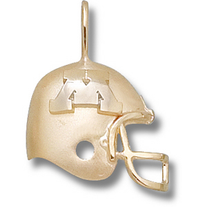 Minnesota Gophers 3/4in 14k Helmet Pendant