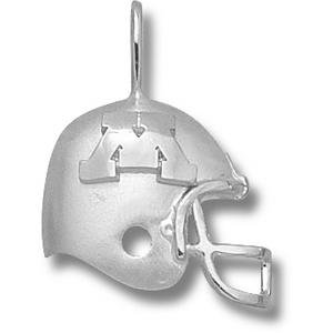 Minnesota Gophers 3/4in Sterling Silver Helmet Pendant