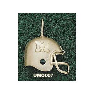 Missouri Tigers 3/4in 10k Helmet Pendant