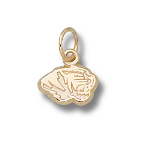Missouri Tigers 1/4in 14k Head Charm