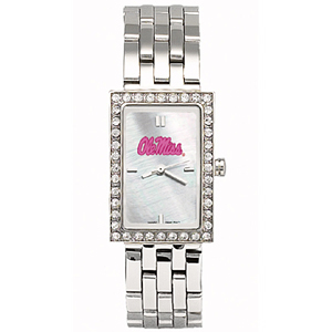 Ole Miss Starlette Stainless Steel Watch