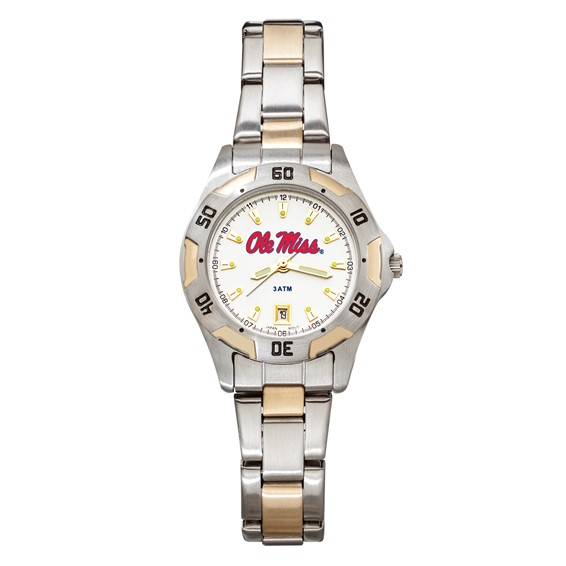 University of Mississippi All-Pro Women's Two-Tone Watch