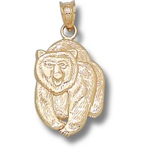 Montana Grizzlies 3/4in 14k Bear Pendant