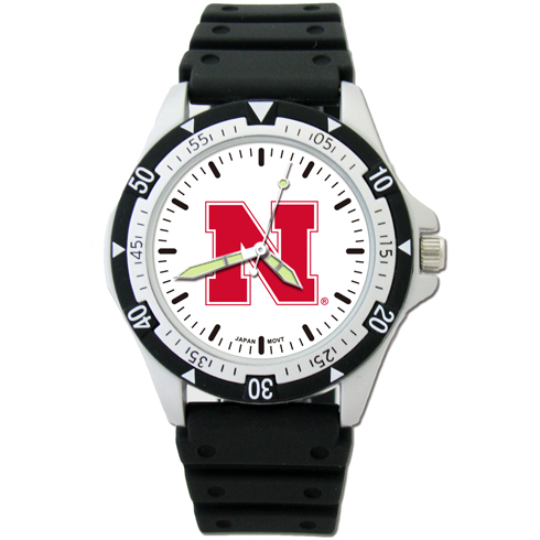 University of Nebraska Option Sport Watch
