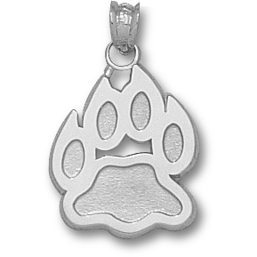 Sterling Silver 5/8in New Hampshire Paw Charm