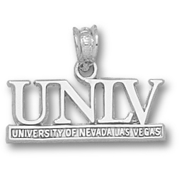 UNLV 3/8in Pendant Sterling Silver