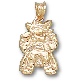 UNLV 5/8in Rebel Pendant 10kt Yellow Gold