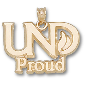 14kt Yellow Gold 5/8in UND Proud Pendant