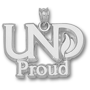 Sterling Silver 5/8in UND Proud Pendant