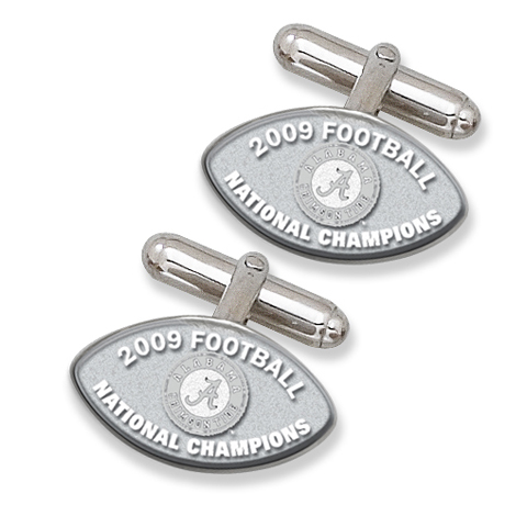 Alabama Champs Cufflinks Sterling Silver
