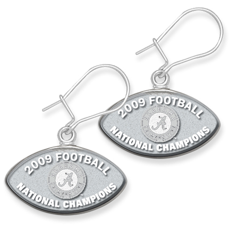 Alabama Champs Earrings Sterling Silver