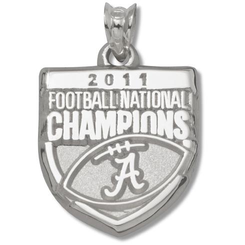 2011 University of Alabama National Champs Silver Charm
