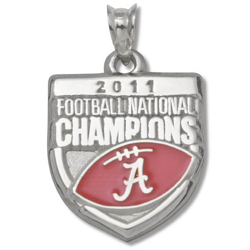 2011 University of Alabama National Champs Silver Charm