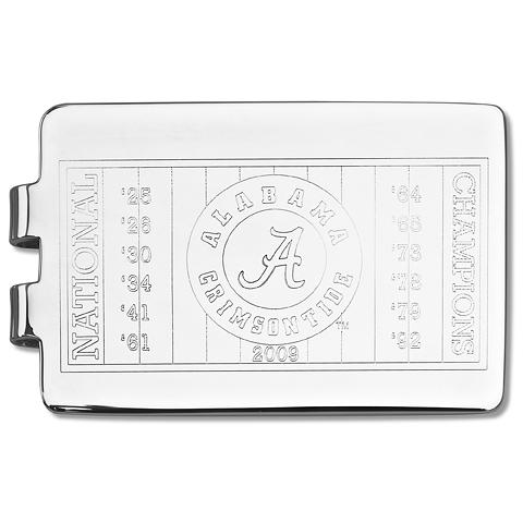 University of Alabama 2009 Championship Money Clip