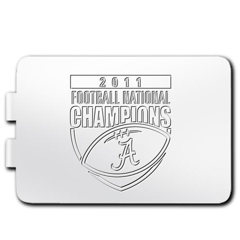2011 University of Alabama National Champs Laser Money Clip