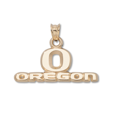 Oregon Ducks 7/16in 10k Pendant
