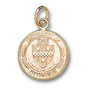 Pittsburgh Panthers 1/2in 14k Seal Pendant