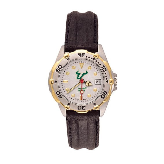 South Florida Bulls Ladies' All Star Leather Watch