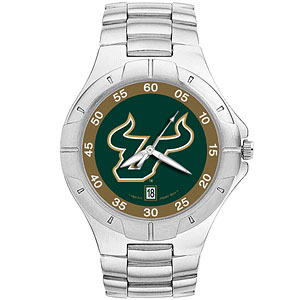 University of South Florida Mens Stainless Pro II Watch