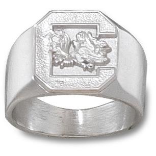 Sterling Silver University of South Carolina Men's Ring