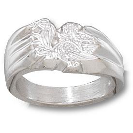 Sterling Silver South Carolina Gamecocks Ladies Ring