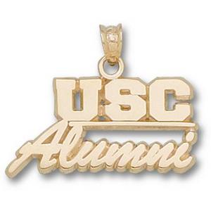 South Carolina 1/2in 14k Alumni Pendant