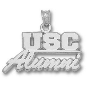South Carolina 1/2in Sterling Silver Alumni Pendant