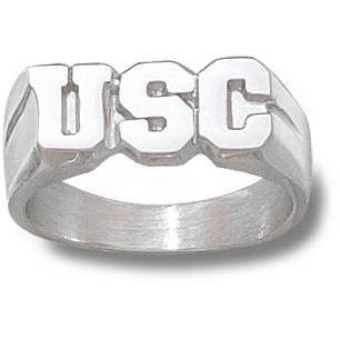 Sterling Silver USC Gamecocks Men's Ring