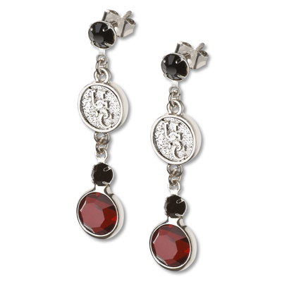 University of South Carolina Crystal Logo Earrings