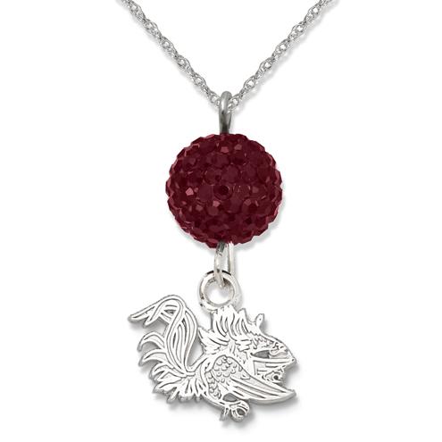 University of South Carolina Crystal Ovation Necklace