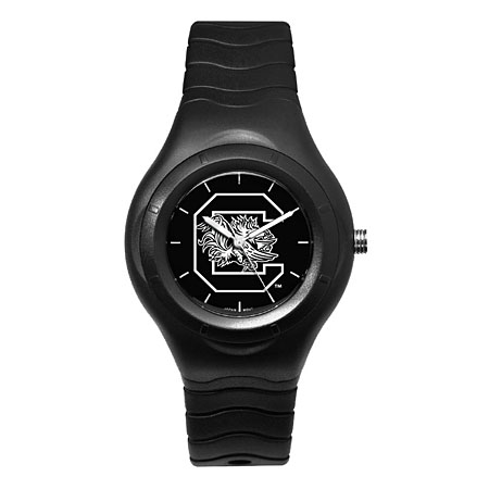 University of South Carolina Shadow Black Sports Watch