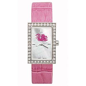 South Carolina Gamecocks Starlette Leather Watch