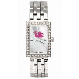 South Carolina Gamecocks Starlette Stainless Steel Watch