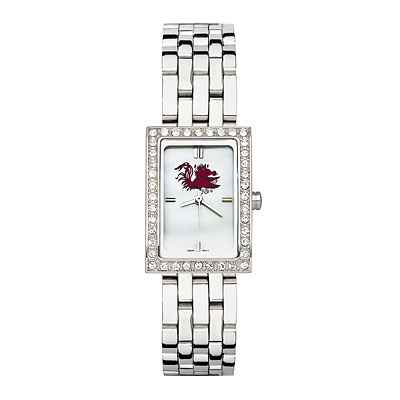South Carolina Gamecocks Allure Watch Stainless Steel Bracelet
