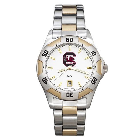 University of South Carolina Men's All-Pro Two Tone Watch