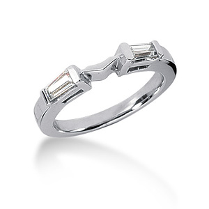1/3 CT TW Moissanite Band