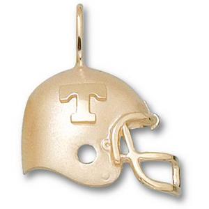 Tennessee Volunteers 3/4in 14k Helmet Pendant