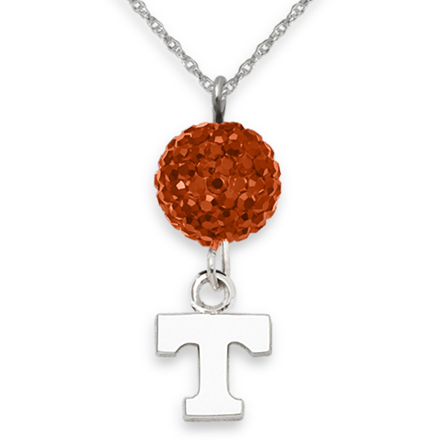 University of Tennessee Crystal Ovation Necklace