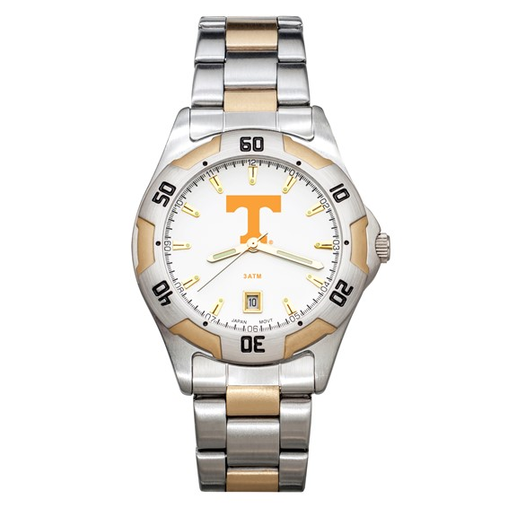 University of Tennessee Men's All-Pro Two Tone Watch